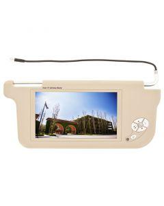 Accelevision ZSV9P Passenger Side Replacement Sun Visor Monitors - Front