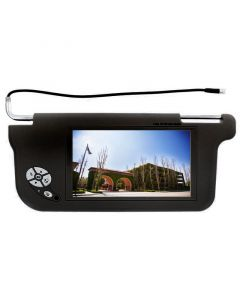 """Accelevision ZSV9DR 9"""" Wide Screen Replacement Sun Visor Monitors"""