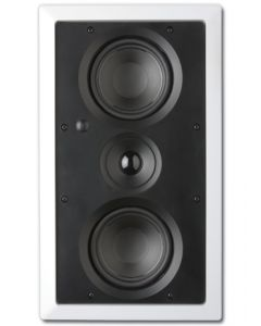 "ArchiTech AP-525 LCRS Dual 5-1/4"" 2-Way In-Wall Speaker - Mounted vertical no grille"