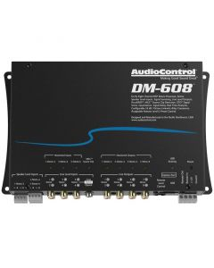 AudioControl DM-608 6 input 8 output DSP processor and Equalizer with time alignment