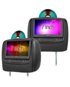 Audiovox HR7012 7 inch DVD Headrests for 2019 - 2020 Infiniti Q70 - Main