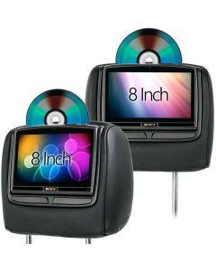 Audiovox HR8 8 inch DVD Headrest for 2010 - 2012 Lincoln MKZ - Main