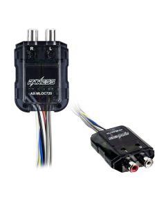 Axxess AX-MLOC720 80 Watt 2 Channel Line Output Converter