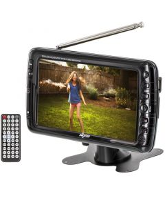 "Axess TV1703-7 7"" Rechargeable Portable TV - Main"