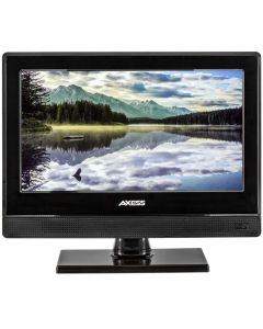 "Axess TV1705-13 13"" 12 Volt HD LED TV with AC/DC power adapter"