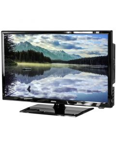 """Axess TVD1805-22 22"""" HD LED TV with AC/DC power adapter and built in DVD - Main"""