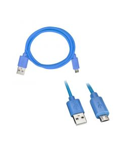 Axxess AX-MICROB-BL 3 foot USB to Micro USB Cable - Blue
