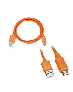 Axxess AX-MICROB-OR 3 foot USB to Micro USB Cable - Orange