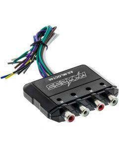 Axxess AX-MLOC740 Universal 80 Watt 4 Channel Line Output Converter