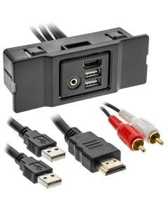 Axxess AXFD-USB3 USB Media Hub Replacement - Ford Edge 2011-2014