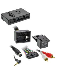 Axxess AX-GMLAN44-SWC 2012 - 2016 GM radio replacement LAN-BUS interface with steering wheel and navigation outputs