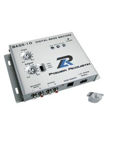 Power Acoustik BASS-10 Digital Bass Driver and Max Bass Control Signal Processor Machine