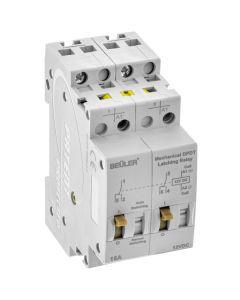 Beuler 5086E Mechanical DPDT 12V Latching Relay