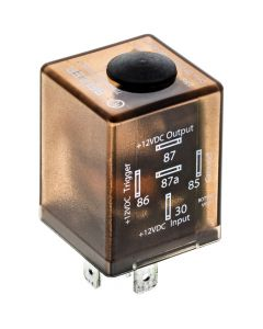 Beuler BU509TD 12 VDC Automotive 5-Pin SPDT Time Delay Relay with adjustable timing