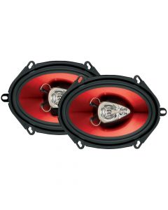 "Boss Audio CH5730 Chaos Series Speakers 5"" x 7"" 3-Way Speaker"