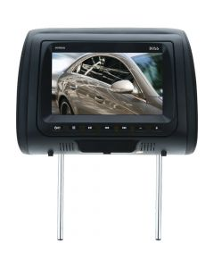 """Boss Audio HIR8A 8"""" Headrest Monitor with Built-in DVD Player and Dual Channel IR"""