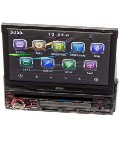 Boss Audio BV9976B Single DIN Motorized flip out car stereo - Main