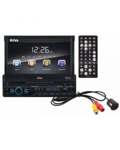 Boss Audio BVB9967RC Single DIN 7 inch Flip out Receiver _Main