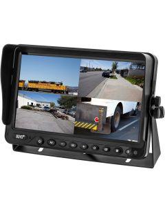 "Boyo VTM9003QFHD 9"" Universal Quad-Screen Monitor"