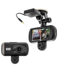 Boyo VTR217GW Dual Camera Full HD 2 Channel Dash Cam Recorder