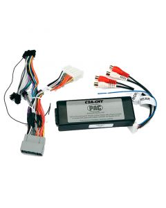 PAC C2A-CHY 2004 and Up Chrysler / Dodge / Jeep / Mitsubishi add an amplifier interface