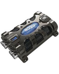 Boss Audio CAP10 Black Chrome Capacitor 10 Farad