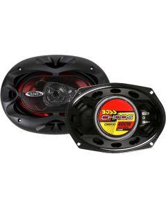 Boss CH6930 6x9 Inch 3-Way Chaos Speakers - 400W