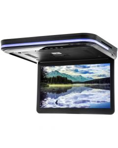 Chameleon CFD-158 15.6 inch Overhead Flip Down LED Monitor with Built-In DVD Player, HDMI, USB, and SD Card Reader