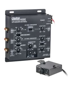 Clarion MCD360 3-Way Electronic Crossover - Main