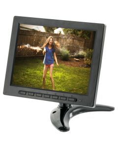"""Clarus TOP-SS-E477 8"""" TFT LCD Universal Monitor -"""