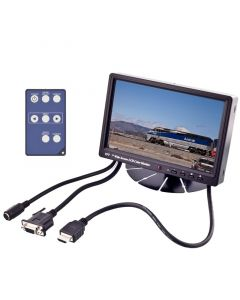 "Accelevision LCDP7WVGAHBLS 7"" Sun Light Readable LCD monitor with VGA input - Main"