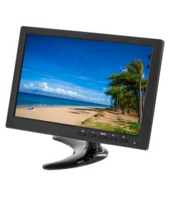 Clarus TOP-C522 10.1 inch IPS Monitor with HDMI, VGA, USB, and AV inputs