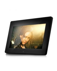 Quality Mobile Video Clarus TOP-CVGB-F20 10 inch Media player and Digital picture frame - Front view