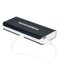 Clarus TOP-PW103-Black 5 Volt 1 Amp Portable Power Bank - USB Plugged In