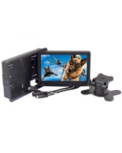 Quality Mobile Video CVSF-1002 7 Inch Touchscreen LCD Monitor with VGA, Headrest Shroud and Mounting Stand