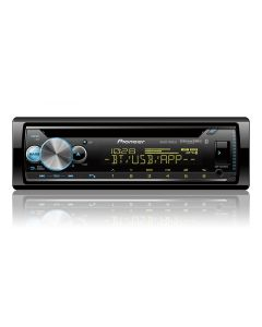 Pioneer DEH-S6100BS Single-DIN In-Dash CD Receiver with Bluetooth, Pioneer Smart Syn & SiriusXM Ready