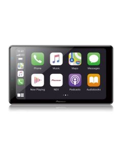 Pioneer DMH-WC6600NEX Double DIN 9 inch Modular Digital Media Receiver with Capactive Touchscreen, Apple Carplay, Android Auto, and HD Radio