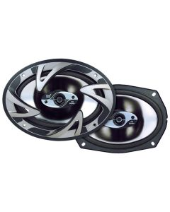Dual DS-693 6x9 Inch 3-Way Speakers - 75W rms/150W Max Power
