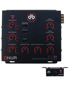 DB Drive E7 3X Okur Series 3-Way Electronic Crossover