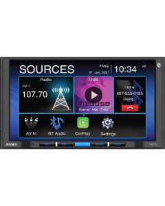 """Jensen CAR710 7"""" Digital Media Receiver with Apple Carplay and Android Auto"""