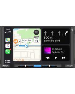 "Jensen CAR710W 7"" Digital Media Receiver with Wireless Apple Carplay, Wireless Android Auto and SiriusXM Ready"