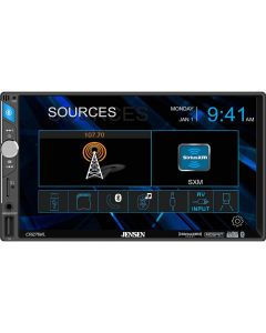 """Jensen CR271ML 7"""" Digital Media Receiver with Bluetooth, Capacitive Touchscreen and SiriusXM Ready"""