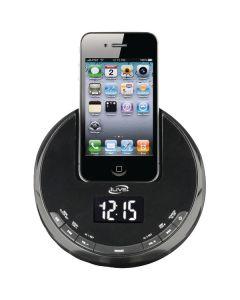 iLive iCP101B iPhone AM/FM Alarm Clock Radio Sphere with Dock