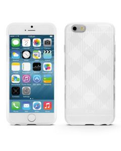 "iLuv ILVAI6GELAWH iPhone 6 4.7"" Gelato Case - White"