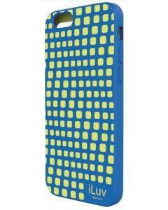 "iLuv ILVAI6AURWBL iPhone 6 4.7"" Aurora Wave Case - Blue"