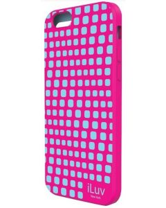 "iLuv ILVAI6AURWPN iPhone 6 4.7"" Aurora Wave Case - Pink"