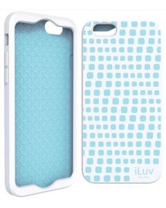 "iLuv ILVAI6AURWWH iPhone 6 4.7"" Aurora Wave Case - White"