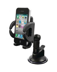 iLuv ICC790BLK Universal Windshield Smartphone Mount Kit