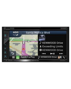 """Kenwood DNX694S Double DIN 6.8"""" In-Dash DVD/CD/AM/FM Receiver"""