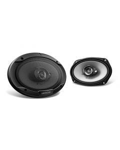 """Kenwood KFC-C6966S 6"""" x 9"""" 3-Way Sport Series Coaxial Speakers"""